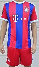 """Bayern Munich FC """"Unbranded Replica"""" Jersey & Shorts 2pc Set NWT Available Sizes"""