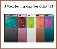 Genuine Official Samsung Galaxy S5 V  S View Smart Battery Case Flip Cover