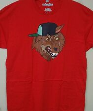 Adventure Time Men Red (The Party God) T-shirt Sm. to XXL