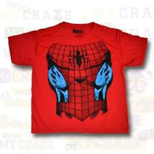 SPIDERMAN Marvel Spider Web Red Boys Kids Youth T-Shirt