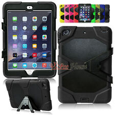 Kid Shockproof Heavy Duty Rugged Hard Case Cover Stand For Apple iPad Mini 1/2/3