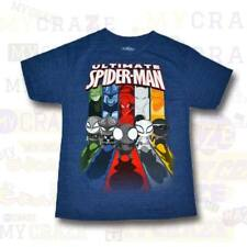 ULTIMATE SPIDERMAN Marvel Boys Kids Youth T-Shirt