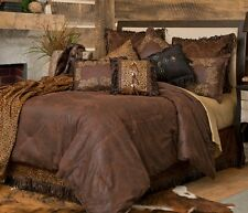 Gold Rush Bedding Collection - Western/Leopard  Print - Free  Ship + Free Throw!