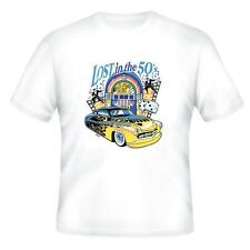 Automotive Transportation T-shirt Lost In The 50's Antique Car
