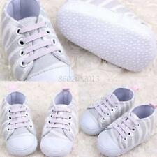 Spring Toddler Boy Girl Zebra Soft Sole Shoes Antislip Canvas Shoes Sneakers New