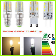 3W 4W 5W 7W G4 G9 E14 SMD 3014 LED Warm Cool White Lamp Bulbs Corn Light 220V