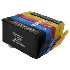 364XL Compatible Black & Colour Chipped Ink Cartridge 5 Pack for HP