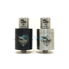 Tugboat V2 RDA Atomizer Clone - Stainless Steel or Black