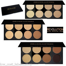 MAKEUP REVOLUTION Ultra Cover and Conceal Palette. Highlighting Contouring Cover