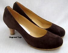 NEW CLARKS ORIGINALS AIRLIE REEF BROWN SUEDE SHOES