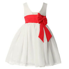 Hot Seller Flower Girl Dresses Kids Pageant Party Wedding Princess Ball Gown New