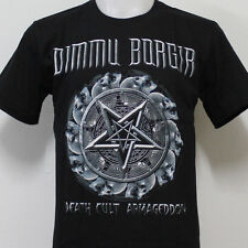 DIMMU BORGIR Death Cult Armageddon T-Shirt 100% Cotton Size S M L XL 2XL 3XL