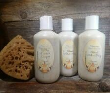 Exfoliating Face Scrub Oatmeal Milk & Honey Pick Mature/Oily or Normal Homemade