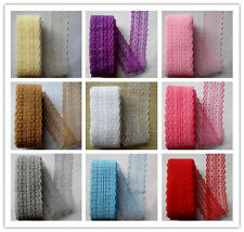 Beautiful!10yards embroidery lace ribbon 15 colors can be selected