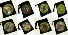 Tarot / Rune Stones / Crystals BAG / POUCH by LISA PARKER Wolf Raven Cat