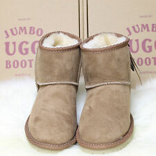 Genuine Jumbo Classic Ultra Short UGG Sheepskin Boots 100% Australian Made