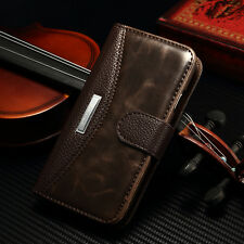 For Samsung Galaxy S4 I9500 Luxury Leather Magnetic Flip Case Slot Wallet Cover