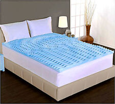 2-Inch Dream Form Cool Gel Foam Mattress Padded Topper Firm Support, Every Size