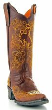 Louisiana State University LSU Gameday Boots Womens College Cowboy Boots Brown