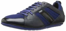 NIB $245 Hugo Boss BOSS Tattion Fashion Sneaker Medium Blue MENS US SIZE 8-11