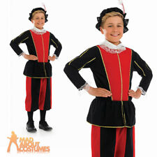 Tudor Boy Costume Child Royal Prince Fancy Dress Medieval Book Week Outfit