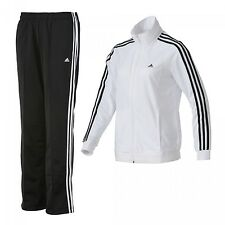 G81126 ADIDAS DIANA SUIT Womens Tracksuit NWT White/black size M