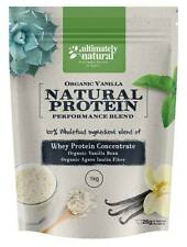 100% Natural Whey Protein Powder Superfood Shake Organic Vanilla Bean Recovery
