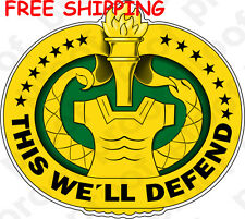 US ARMY BADGE Drill Sergeant STICKER MAGNET BANNER FREE SHIPPING