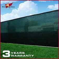 Green Size 4' 5' 6' 8' Tall Garden Fence Privacy Screen Windscreen Mesh Outdoor