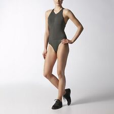 Adidas 2015 Stella McCartney  gym suit leotard sport swimming shiny wet look