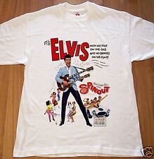 Elvis Presley Spinout Comedy Musical Movie Poster T Shirt Rock & Roll Size S-XXL