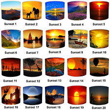 Sunrise Sunset Print Table Lamp Shades Or Ceiling Light Shades Lampshades