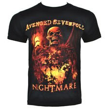 Official Avenged Sevenfold Inner Rage T Shirt ALL SIZES - Band Merch, A7X Tees