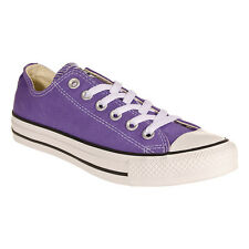 Purple Converse All Stars Hollyhock Canvas Shoes Footwear Sneakers Trainers