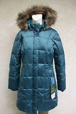 NWT Women's Eddie Bauer The Lodge Down Parka EB550 Fill Power Goose Dusk Blue