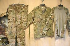 MULTICAM MILITARY COMBAT PANTS / SHIRTS & BATTLE SHIRTS INSECT REPELENT NEW+USED