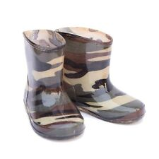 NEW! KIDS' CHILDREN'S BOYS' TODDLERS' CAMO CAMOUFLAGE WELLIES / RAIN BOOTS.