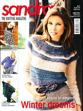SANDRA KNITTING MAGAZINE- PICK ONE - FREE SHIPPING IN USA & CANADA 2009-2011