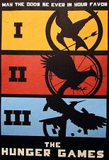 """HUNGER GAMES"" ART PRINT  POSTER FILM MOVIE WALL DECOR A3 SIZE"