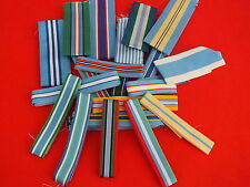 United Nations Medal Ribbons FS and Mini sold in 1m lengths, TKS UK made