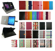 """Stylish Universal Wallet Case Cover fits Lexibook Tablet Master 3/ Kids 7"""" Inch"""