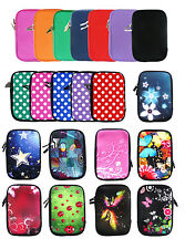 Stylish Soft Neoprene Sleeve Zip Case Cover Pouch for 7 Inch Tablets with Stylus