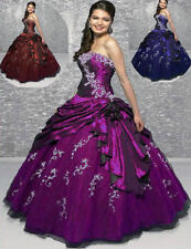 Cheap Prom Party Ball Gown Wedding Bridesmaid Evening Dress Stock Size 6-16