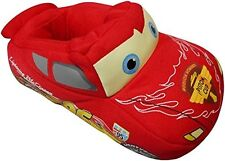 Disney Pixar Cars Lightning McQueen Toddler Unisex Red Slippers/Shoes- S-XL