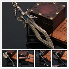 DOTA 2 Defence Of The Ancient 5 HERO Weapon Key Chains / Keyring Free shipping