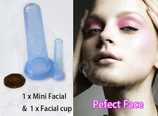 Anti Cellulite Wrinkle Silicone Massage Vacuum Cupping Body Facial +Nose Eye Cup