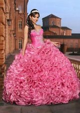 Attracting High End Ball Gown Specialized Attracting Organza Quinceanera Dresses