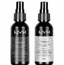 NYX LONG LASTING MAKEUP SETTING SPRAY Matte or Dewy Finish ~ DELIGHTFUL BEAUTY