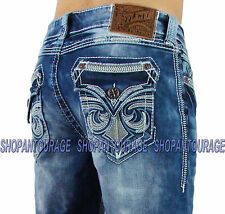 Affliction Blake Diamond Calabasas 110RS130 Men`s New Relaxed Straight Denim