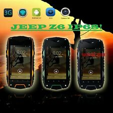 Unlocked Dual Sim Jeep Z6 Android Smartphone IP67 Waterproof Rugged Tough hot